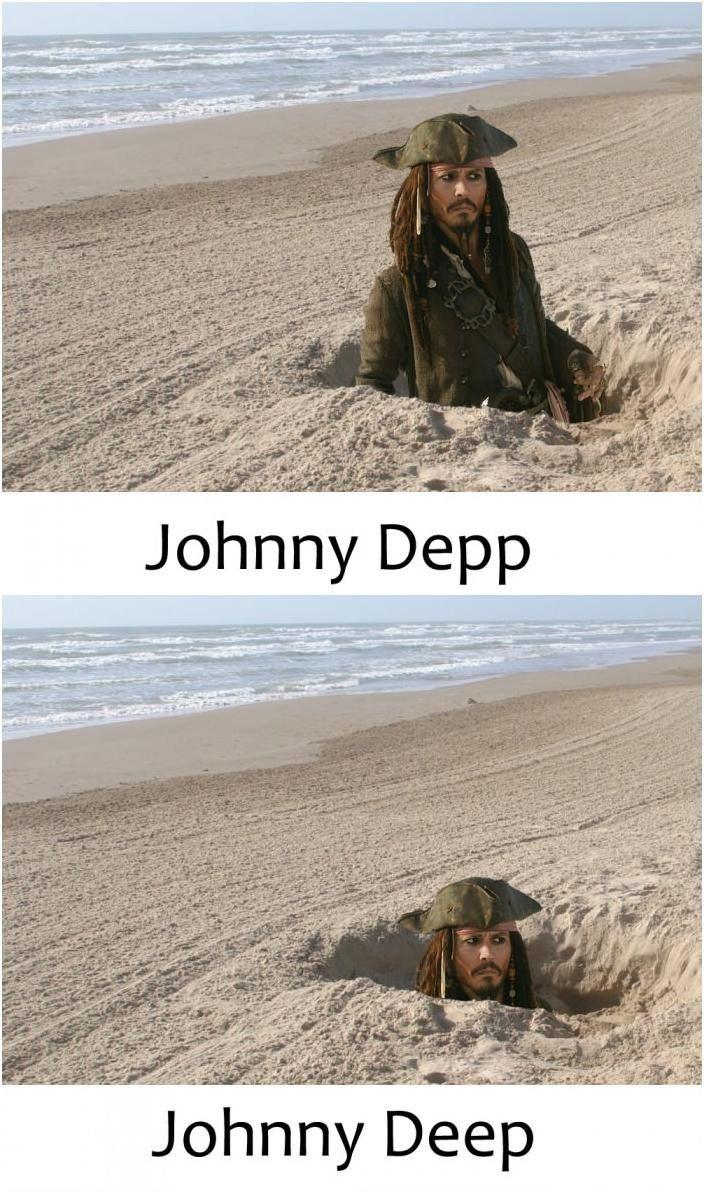 Johnny Depp... Johnny Deep...