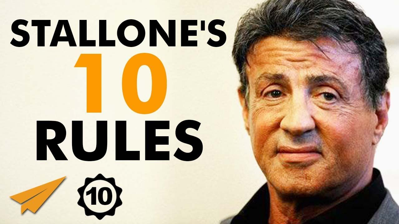 Sylvester Stallone's Top 10 Rules For Success ...