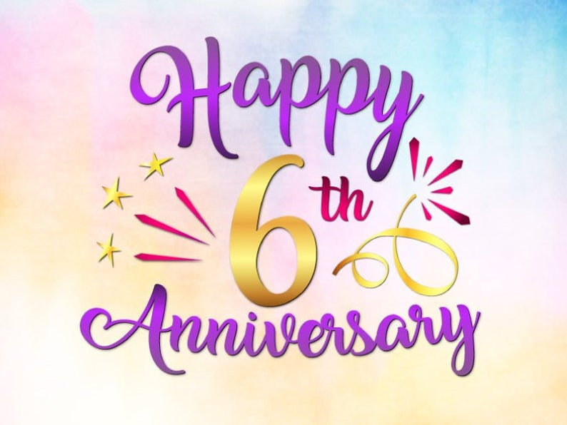 Happy 6th Anniversary Svg Files For Cricut Iron Sugar Wedding Etsy Happy 15th Anniversary Happy 45th Anniversary 6th Anniversary