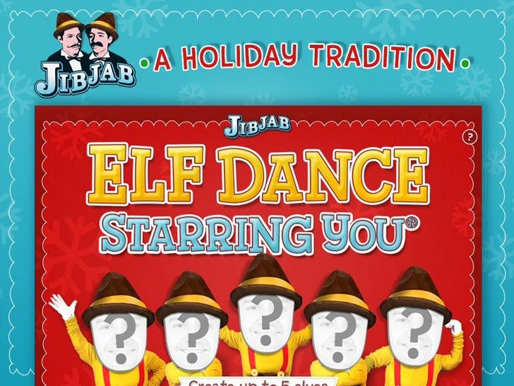 elf dance by jibjab starring you cast yourself friends as dancing elves for the holidays app christmas apps - Christmas Elf Dance App