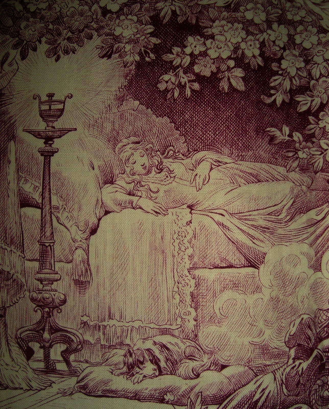 Morgaine Le Fay Antique Textiles And More Sleeping Beauty A