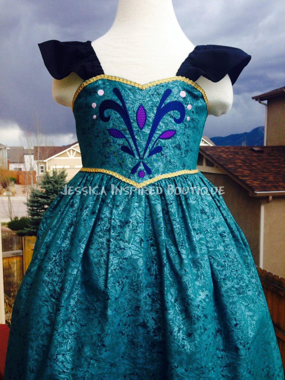 Frozen Inspired Queen Elsa Coronation Sundress - Elsa Coronation Dress by Theresafeller on Etsy https://www.etsy.com/listing/186023340/frozen-inspired-queen-elsa-coronation