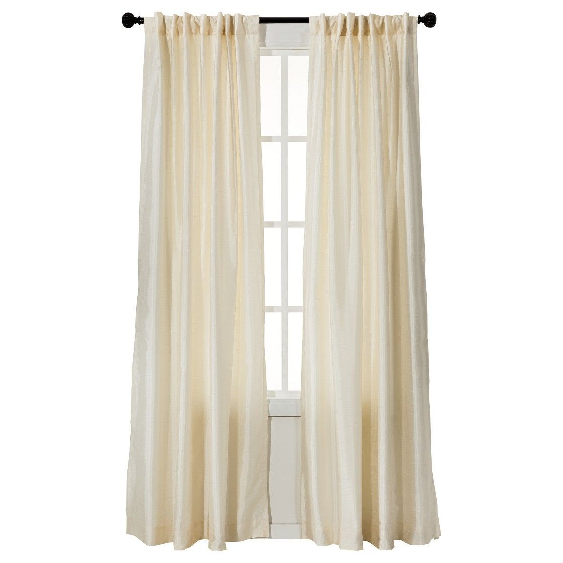 Threshold� Faux Silk Curtain Panel  from Target