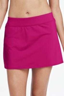 d206c03000 Women's Beach Living Tummy Control SwimMini Swim Skirt from Lands' End