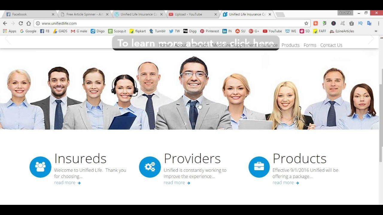 Unified Life Insurance Company Life Insurance Companies Finance