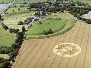 Avebury Stone Circle, about 20 miles from Stonehenge the