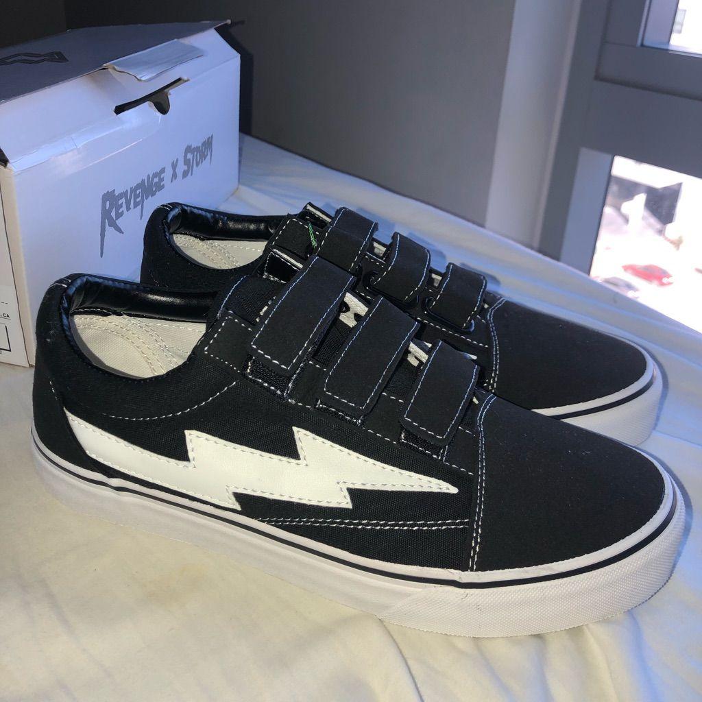 Vans Shoes Ian Connor Revenge X Storm Low Top Velcro Black Color Black Size 9 5 Womens Vans Vans Shoes Black
