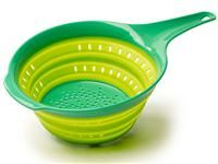 Green 2-qt. Collapsible Colander by Squish