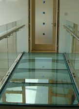 Ark Glass Aluminum Window Well Covers Staircase Railing