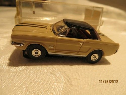 Aurora ThunderJet 500 Ford Mustang   Had this as a kid with tracks and controls. Want it back so bad!