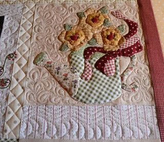 quilting around applique | Quilt Longarm Quilting | Pinterest ... : machine quilting around applique - Adamdwight.com