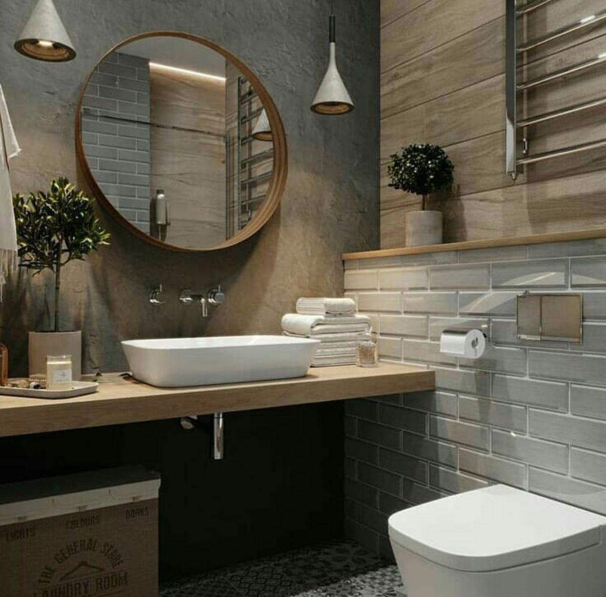 Epingle Par Shaima Dekik Sur Banheiro Idee Salle De Bain Salle De Bain Design Decoration Salle De Bain