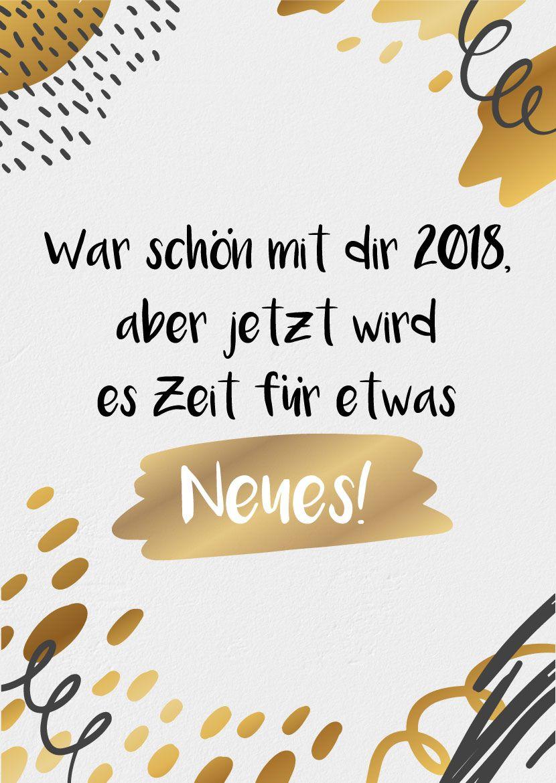 Neujahrsgrüße » Kreative Neujahrswünsche zum Download #happynewyear