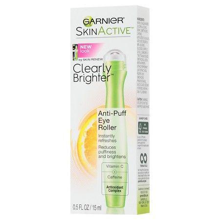 Garnier Skinactive Clearly Brighter Anti-Puff Eye Roller .5 Fl Oz : Target