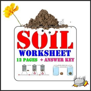 Soil Worksheets For G1 3 Sandy Soil And Worksheets