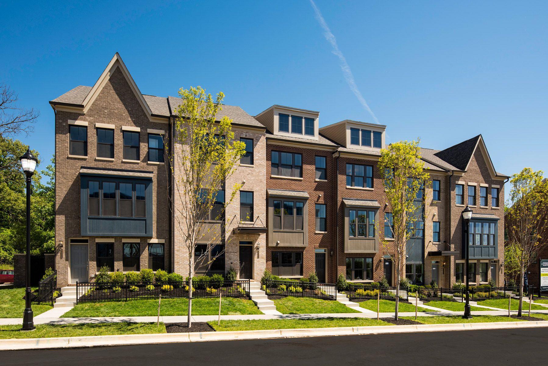 Riverdale Park Station In Maryland Riverdale Park New Homes For Sale Exterior