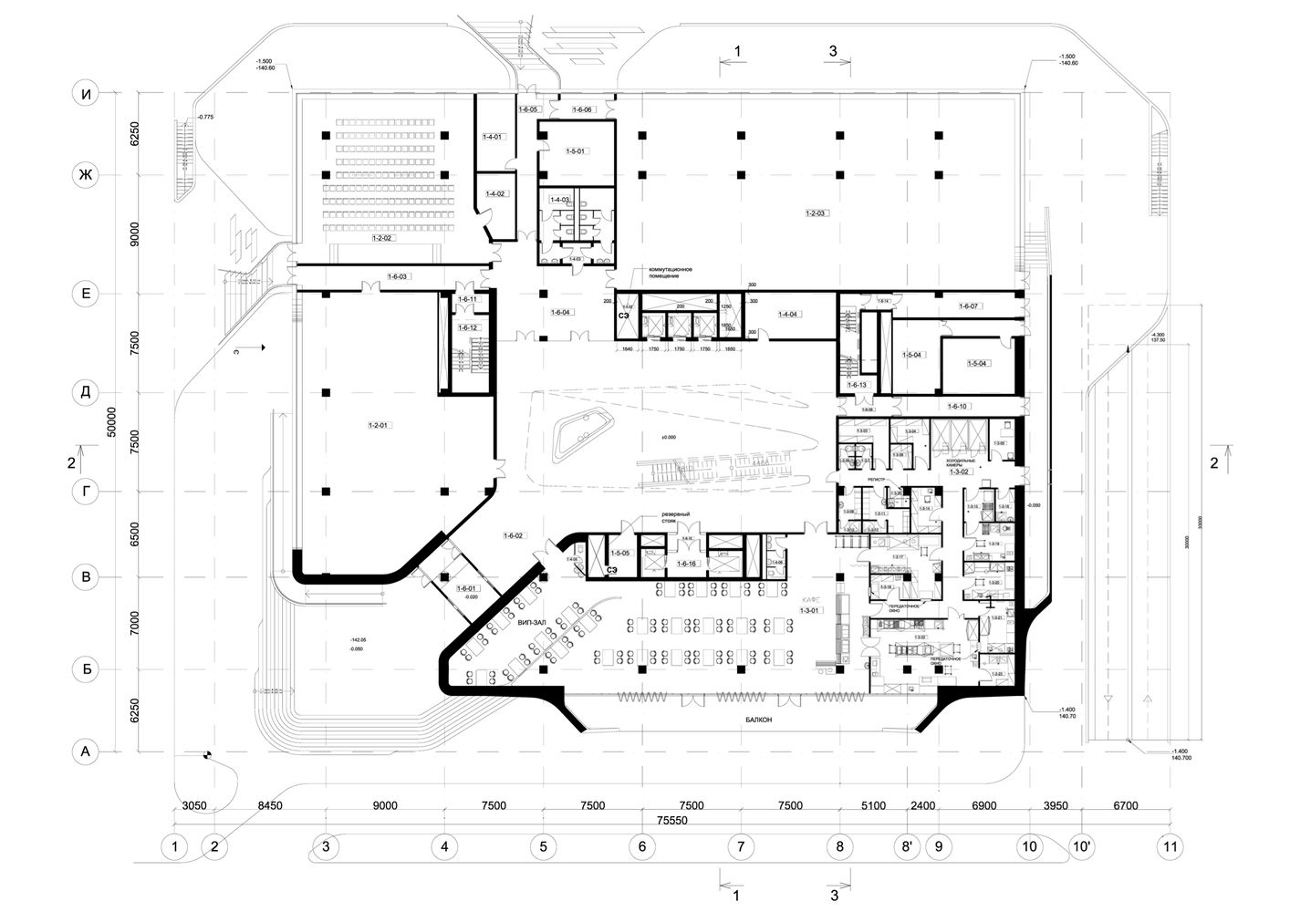 Gallery Of Dominion Office Building Zaha Hadid Architects 12 Zaha Hadid Office Building Office Building Plans