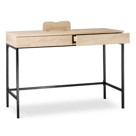 Magnificent Darley Writing Desk Vintage Oak Threshold Target Camellatalisay Diy Chair Ideas Camellatalisaycom