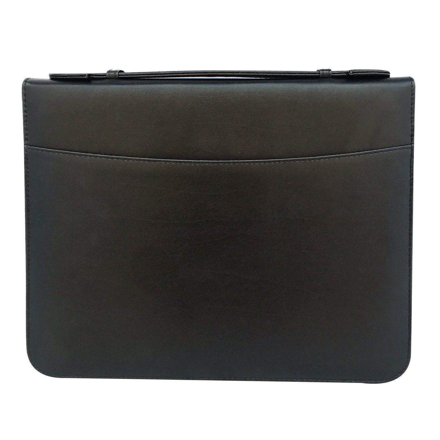 MSP Portfolio Briefcase With Binder Sleeve Pockets, Smart