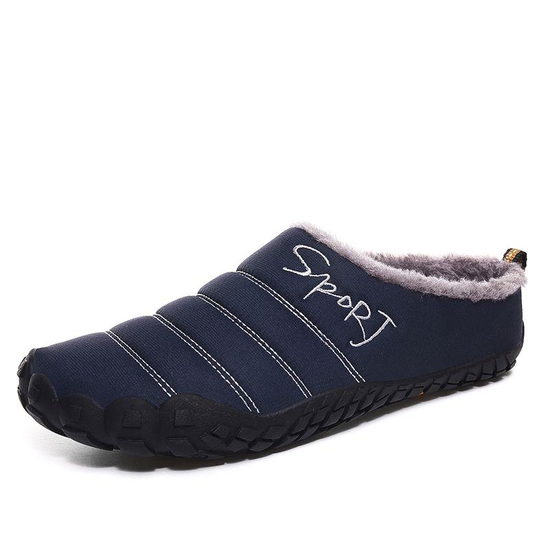 CYYTL Winter Men Warm Fur Home Slippers