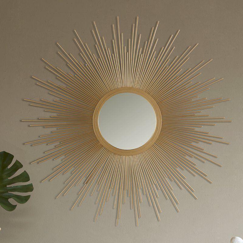 Madison Park Kessler Accent Mirror Sunburst Mirror Mirror Decor Accent Mirrors