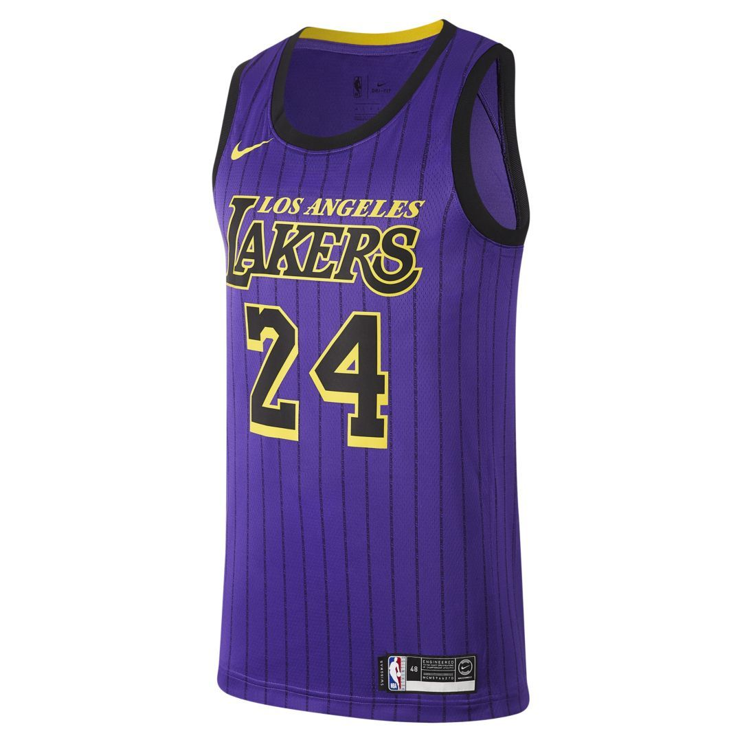 3cca12c7ff5a Kobe Bryant City Edition Swingman (Los Angeles Lakers) Men s Nike NBA  Connected Jersey Size M (Field Purple)