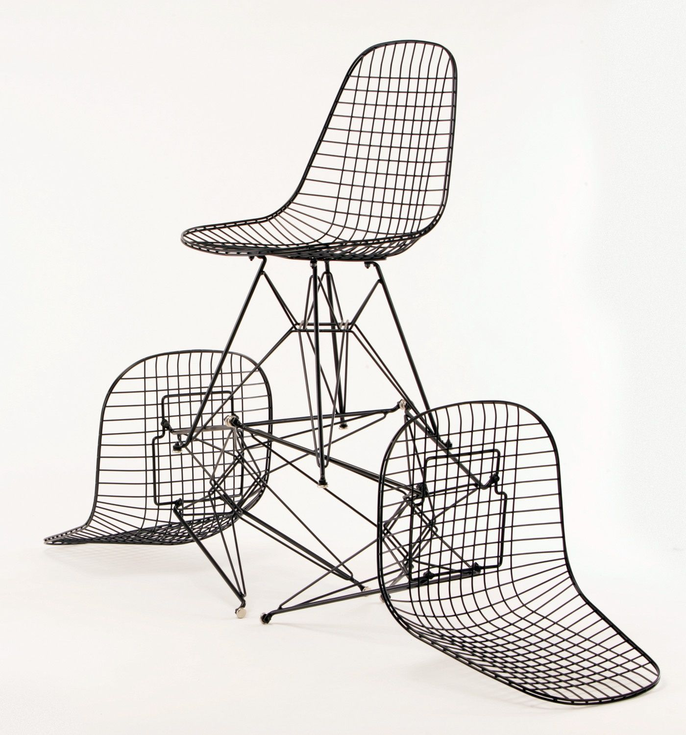 Modernica Case Study Wire Chairs