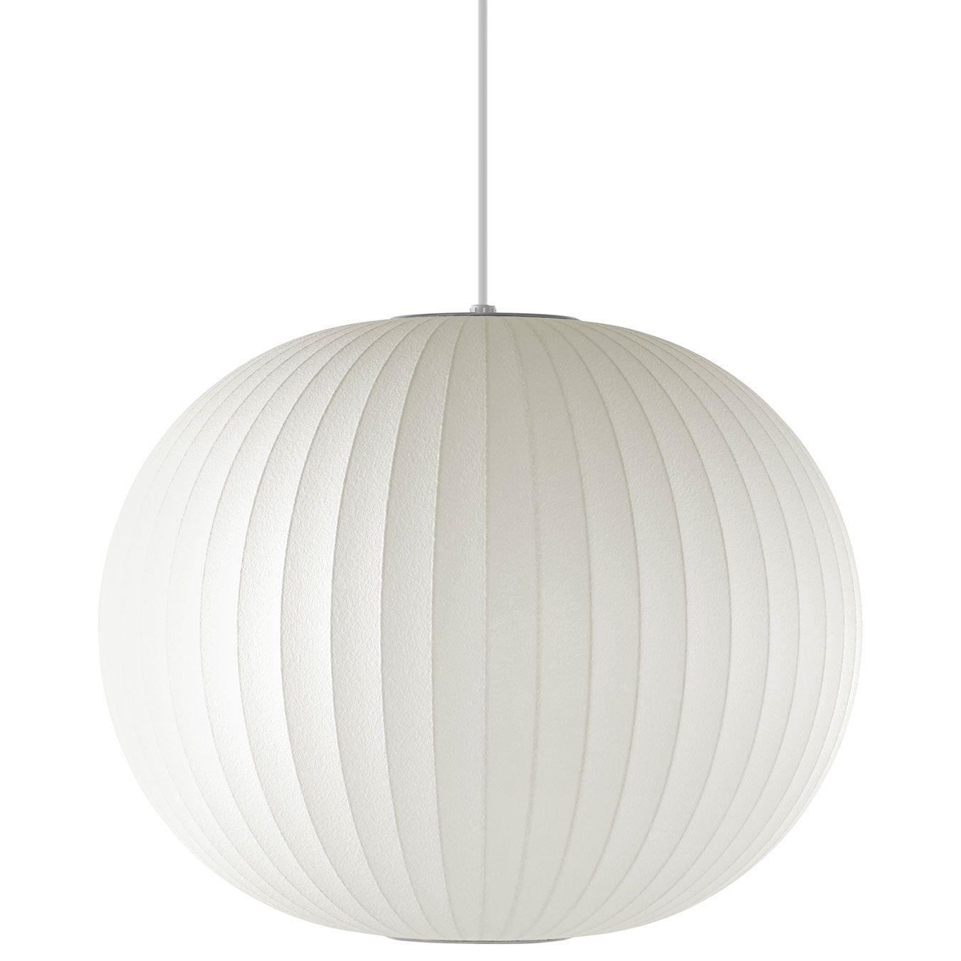 Ball Pendant by Nelson Bubble Lamps H761SBNS Nelson