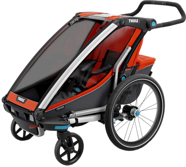 Thule Chariot Cross 1 Single Bike Trailer and Stroller