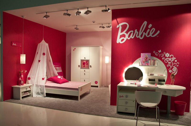 Girls Red Bedroom Ideas Part - 36: 10 Barbie Bedrooms For Girls