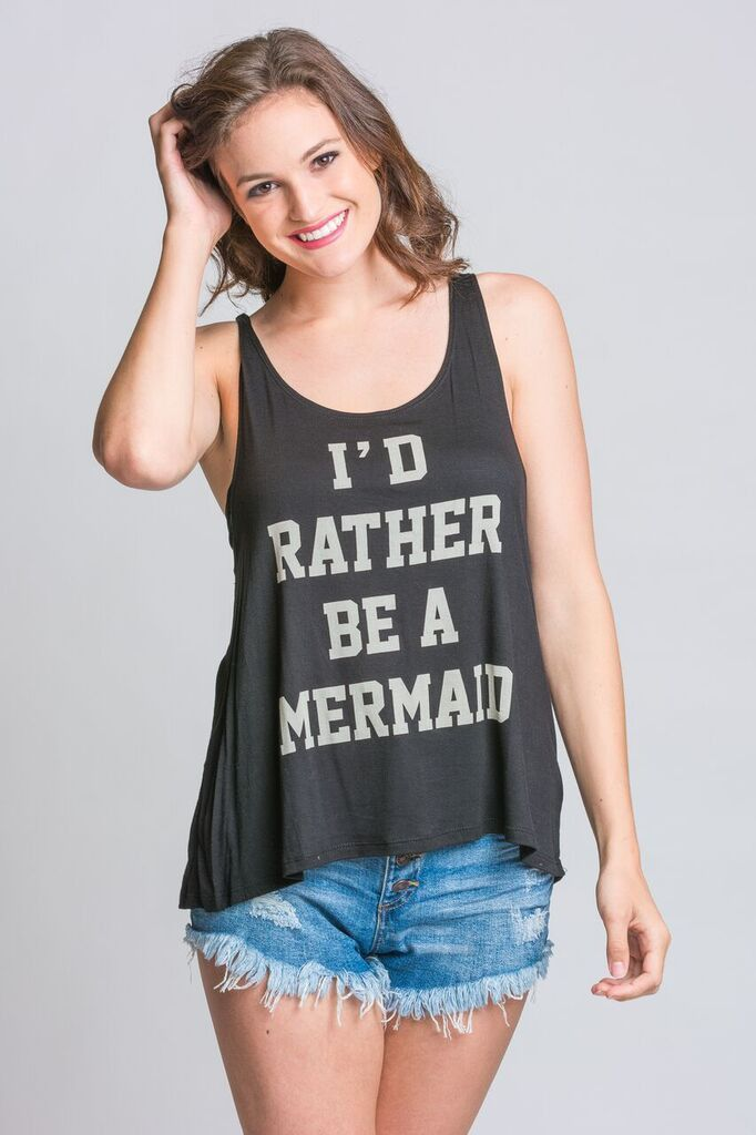 I'd Rather be a Mermaid Tee – Stella Rae's