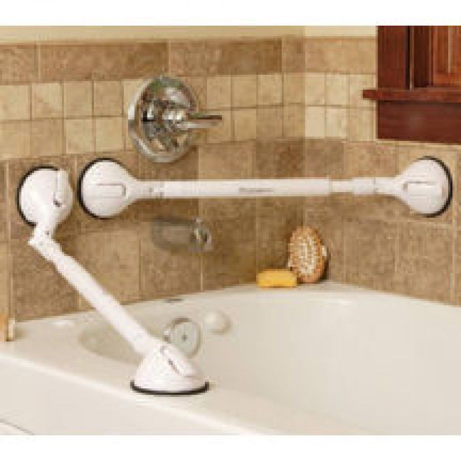 Bridge Medical Portable Grab Bar with Telescoping and Pivoting Grip ...