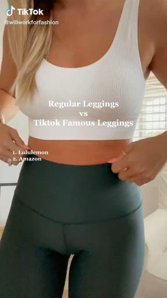 Tiktok butt leggings!! Video Creds to @willworkforfashion (tiktok