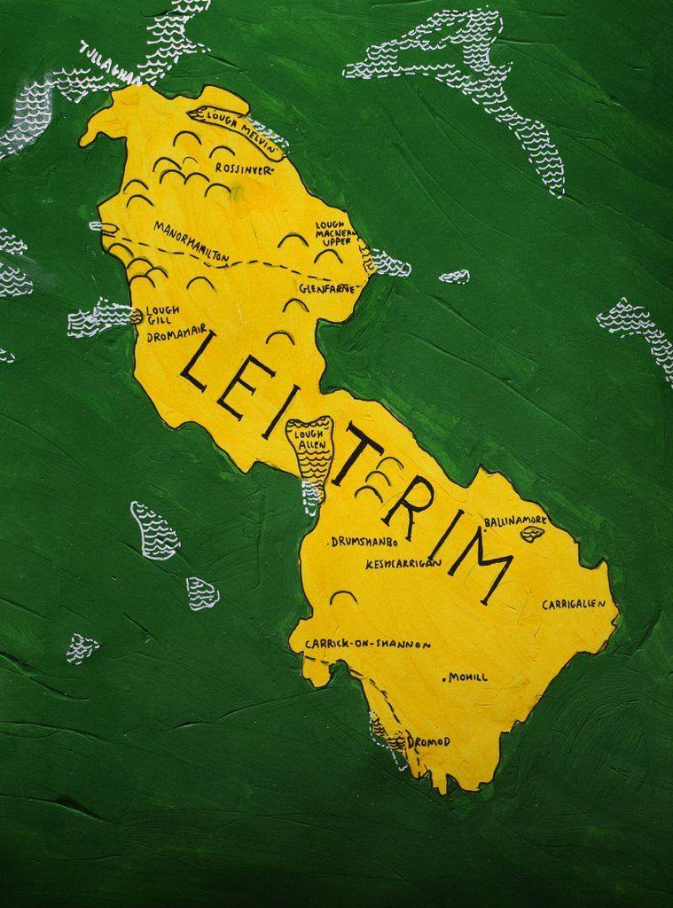 County Leitrim Map