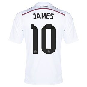 La Quiero En Mi Guardarropa Pronto Real Madrid James Rodriguez 10 Camisetas Real Madrid Camisetas De Futbol