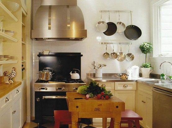 kleine Küche -praktische Design Ideen Kitchen Detail Pinterest - küchenideen kleine küchen