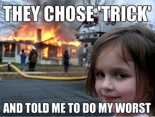 Funny Meme Joke Pics : What a devious little girl i like her funny