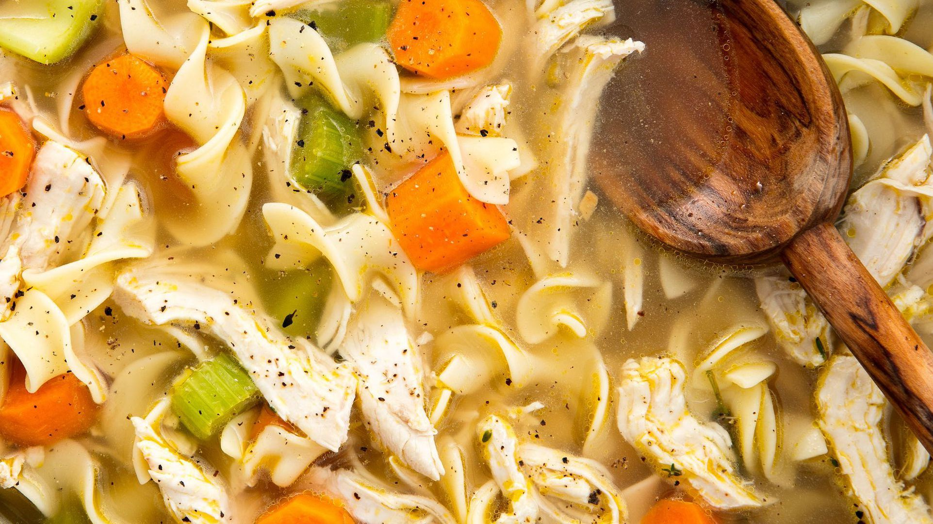 This Chicken Noodle Soup Is The Cure For That Pesky Cold