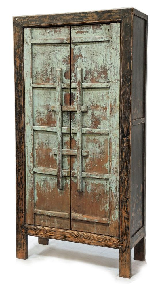 Reclaimed Wood Armoire By Terranovala On Etsy