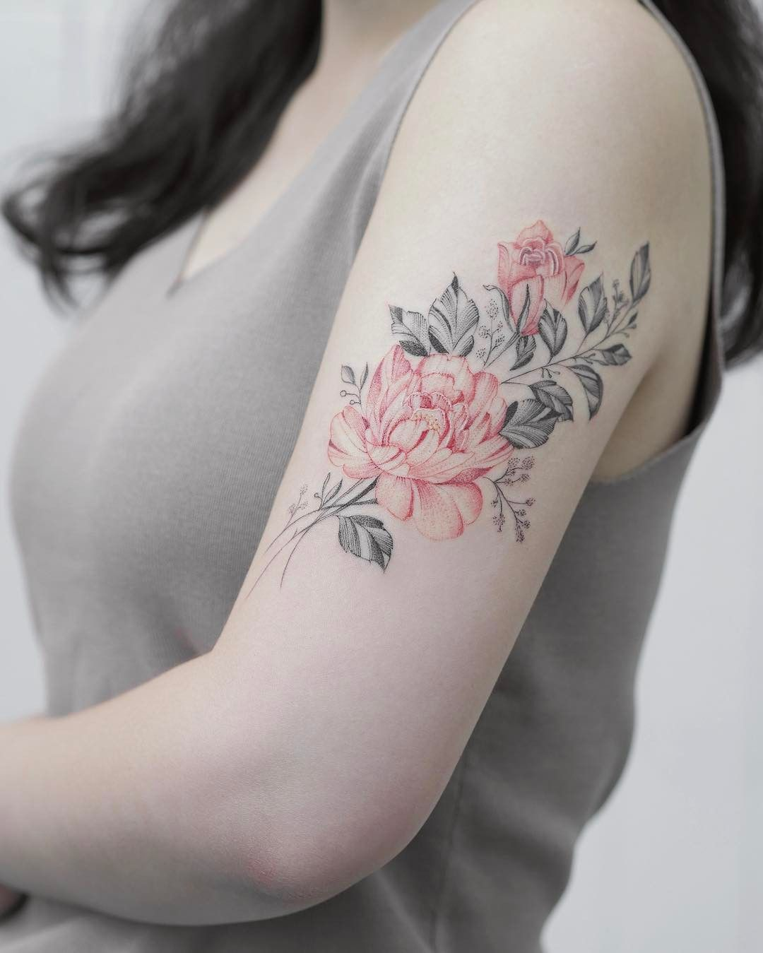 Florals | — Tattoos ON Women — | Pinterest | Walk in, Ps ...