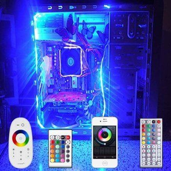 PC led strips | PC en computer verlichting | Pinterest | Led strip