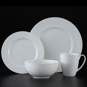 Roscher 32-pc. Hobnail Bone China Dinnerware Set | For the Home ...