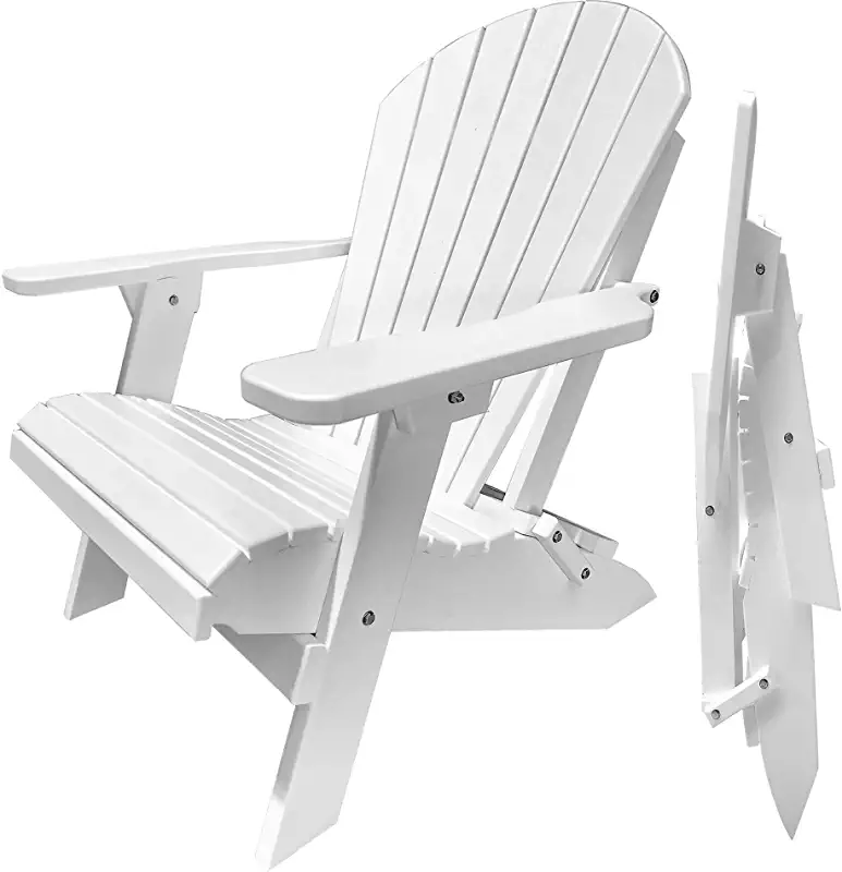 fold up white adirondack chairs Folding