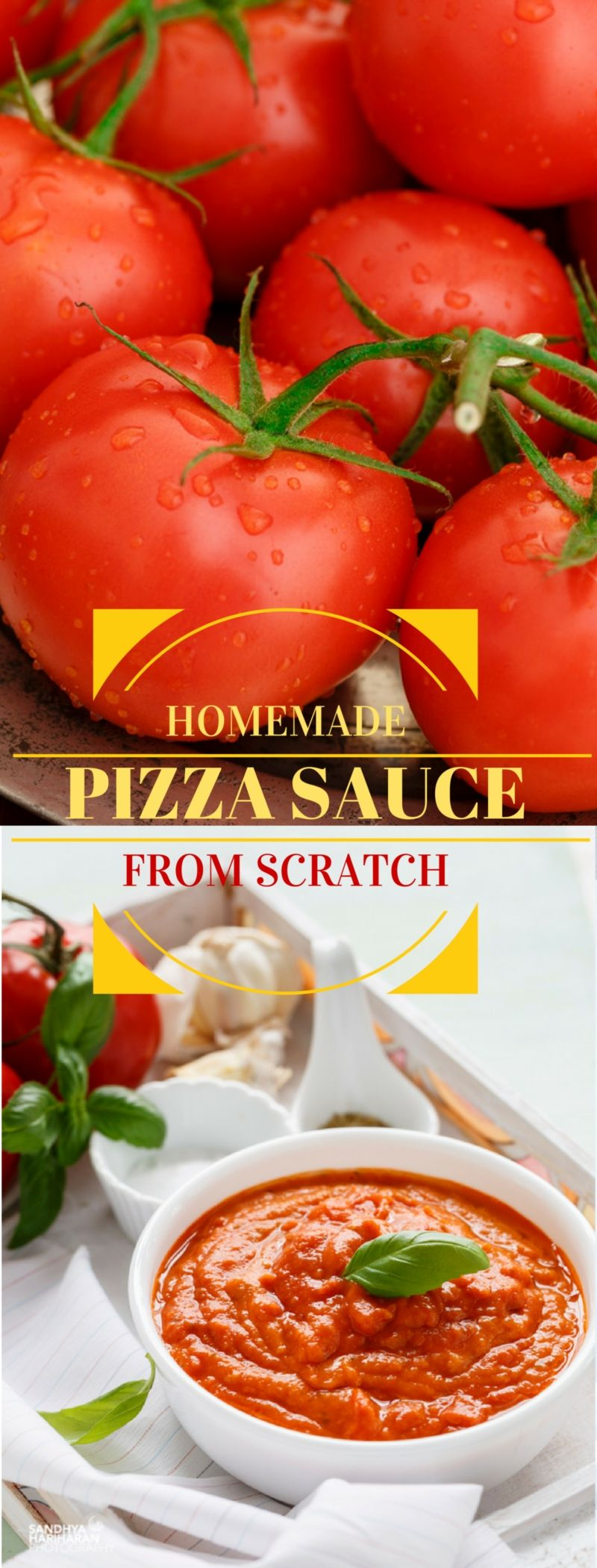 Home made Pizza Sauce from Scratch Homemade pizza sauce