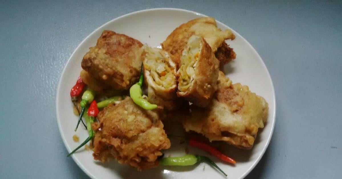 Resep Tahu Susur Tahu Isi Oleh Wiwik Pujiati Resep Resep Tahu Resep Masakan Indonesia Makanan