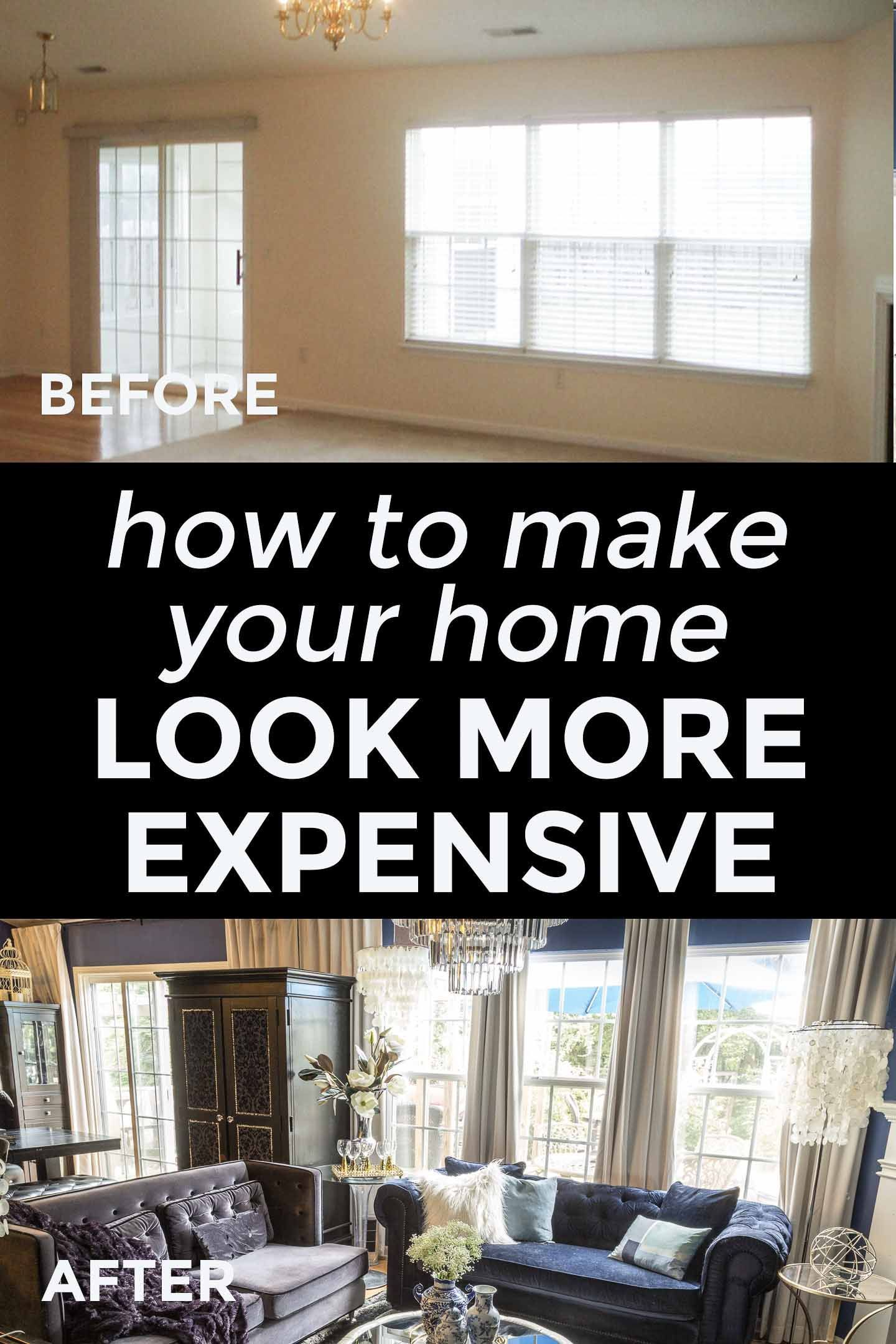 10 Easy Ways To Make Your House Look More Expensive In