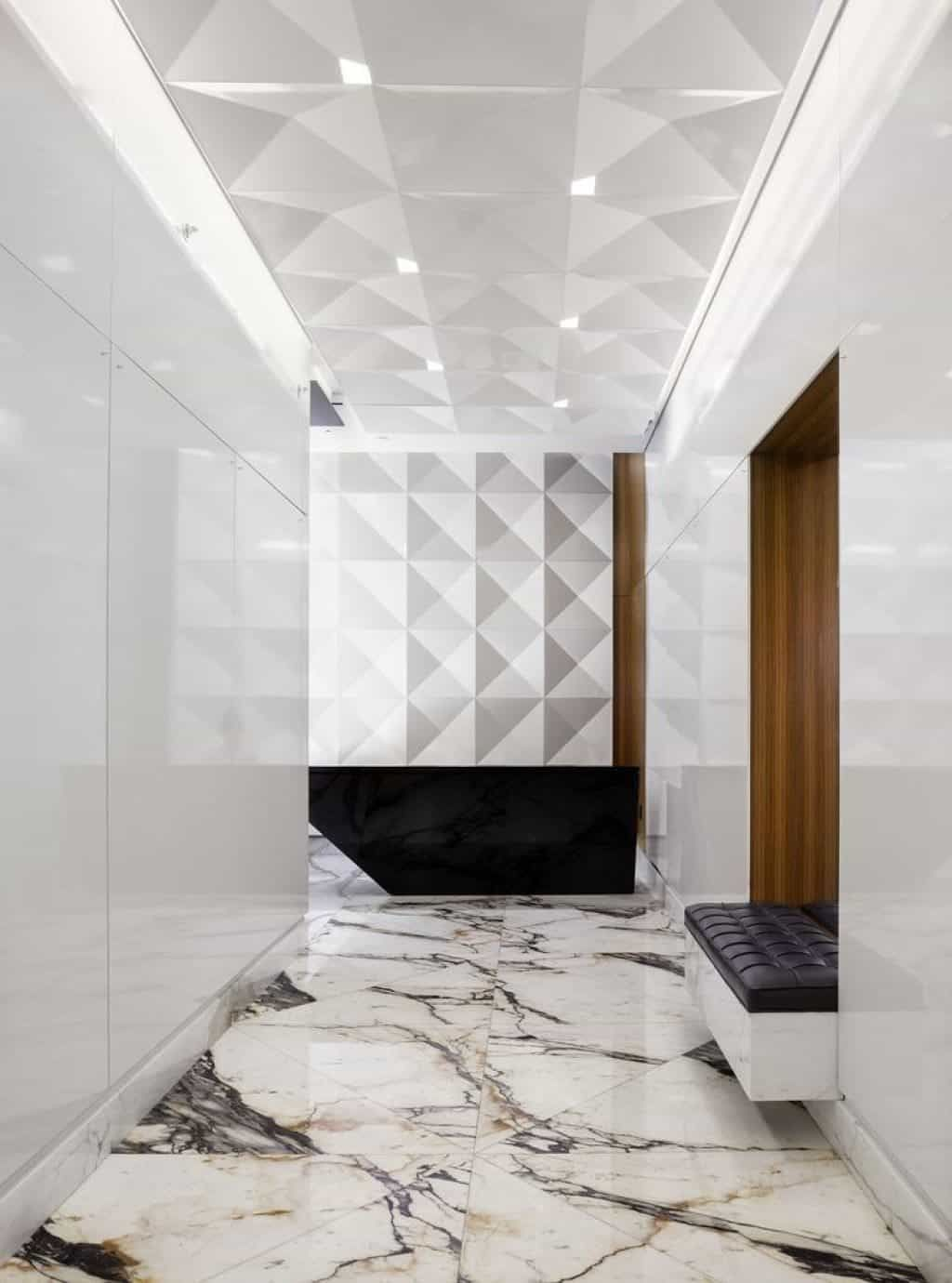 The Benefits Of Marble Flooring Marble Flooring Design Contemporary Hallway White Marble Floor