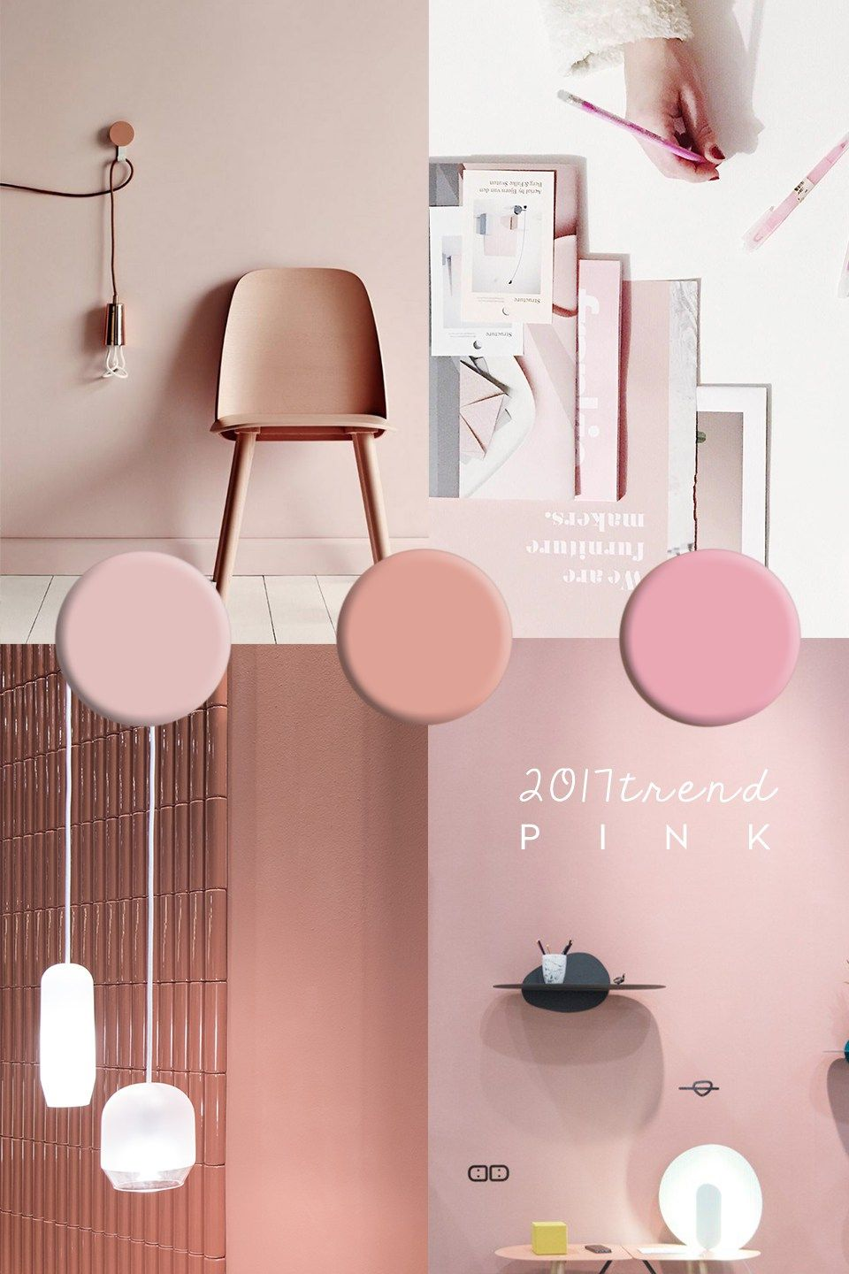 Pink Interior Trend | Colors Trending | Pinterest | Interiors, House ...