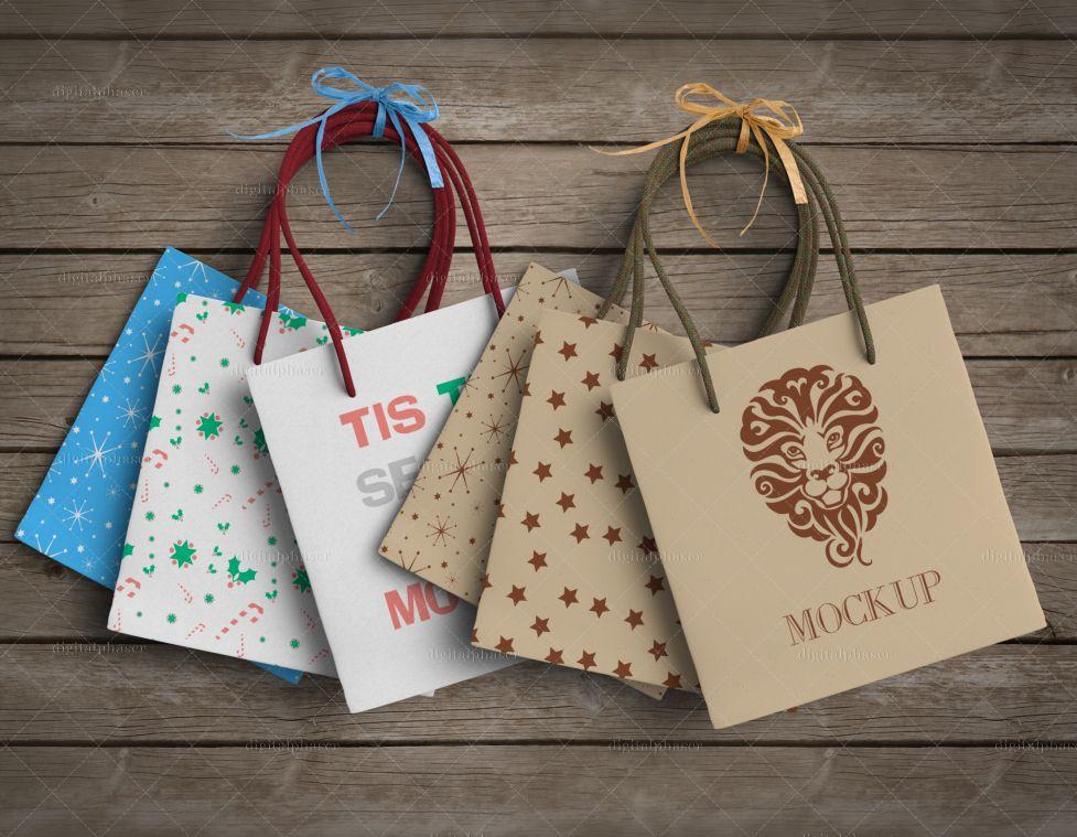 Download Gift Bag Mockup Digitalphaser