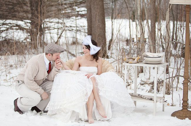 Can We Please Have Pictures Staged Like This For You In The Snow How